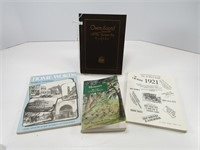 4 OWEN SOUND HISTORY BOOKS