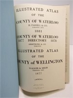 H. PARSELL & CO. WATERLOO & WELLINGTON MAPS