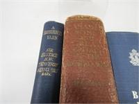 3 MILITARY BOOKS