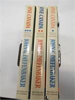 3 JOHN DIEFENBAKER MEMOIR BOOK