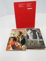 THREE 1972 HOCKEY SERIES BOOKS