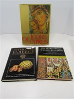 3 COFFEE/REFERENCE BOOKS