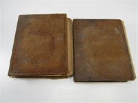 2 EARLY BIBLES, DATED 1823
