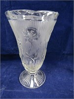 TRAY: ASST. IRIS PATTERN & OTHER GLASS WEAR