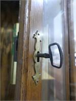 RIDGEWAY OAK CASE GRANDMOTHER CLOCK