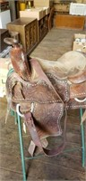 Western Saddle - D Ring Needs To Be Re-Sewn