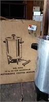 Aluminum Automatic Coffee Maker