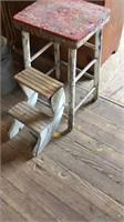 Wood Folding Step Stool