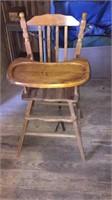 Maple High Chair