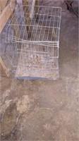 Metal Rabbit Cage - Damaged