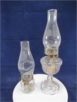 PEDESTAL & OTHER OIL LAMP