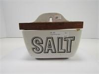 PORCELAIN SALT BOX