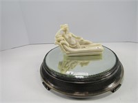 """FORBES SILVER CO. 12"""" REFLECTOR & FIGURE"""