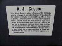 """AJ CASSON """" BON ECHO, LAKE MAZINAW"""" LE PRINT"""