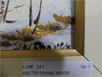 WALTER PRANKE WINTER HOMESTEAD O/B