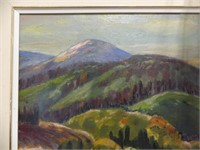 """RUTH BROWN """"MOUNT ORFORD, QUE"""" O/B"""