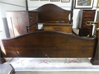 CONTEMPORARY PINE KING SIZE 4 POSTER BED