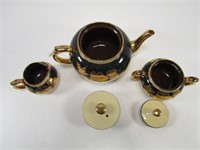 TRAY: GIBSONS 3 PC TEA SET