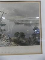 PAIR W.H. BARTLETT LITHOGRAPHS