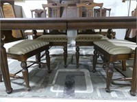 CONTEMPORARY DINING ROOM EXT. TABLE W/ 6 CHAIRS