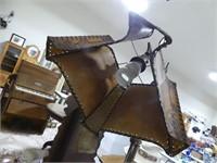 ART DECO CAST BRIDGE LAMP