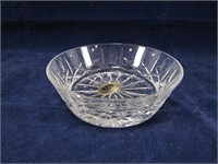 "TRAY: 11"" BOWL & ASS'T CROSS & OLIVE CRYSTAL"
