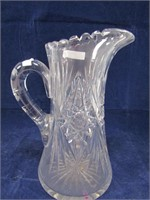 """9.5"""" CRYSTAL PITCHER"""
