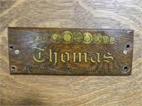 THOMAS (WOODSTOCK) ANTIQUE TRAVELLERS PUMP ORGAN