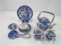 BOX: ASS'T CHINESE BLUE/WHITE DINNERWARE