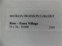 "MICHELE ROSE ""ESSEX VILLAGE"" O/C"