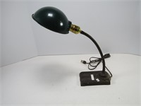 CAST IRON BASE ADJ. DESK LAMP