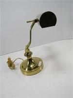 CONTEMPORARY BRASS DESK LAMP