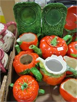 FLAT: JAPAN, OCC. JAPAN & OTHER TOMATO WARE