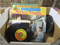 BOX: STAR TREK AND OTHER RECORDS