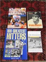 4 BASEBALL BOOKS