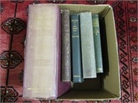 BOX: OLD POETRY BOOKS