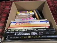 BOX: ROCK & ROLL BOOKS & VIDEOS