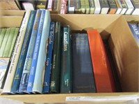 BOX: CANADIAN AND OTHER WAR BOOKS