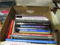 BOX: ASS'T ANTIQUE & OTHER REFERENCE BOOKS