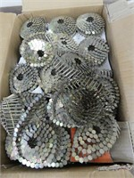 """BOX: 1.25"""" E.G. COIL ROOFING NAILS"""