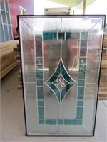 LEAD GLASS WINDOW/DOOR PANEL
