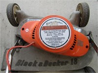 "B&D 18"" ELECTRIC LAWN MOWER"