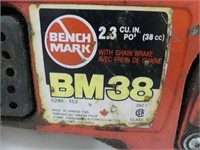 BENCHMARK BM38 GAS CHAINSAW