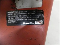 HOMELITE DX GAS POWERED CHAINSAW