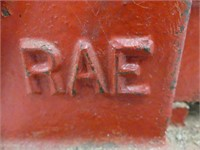 "RAE 4"" BENCH VISE"