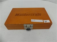 MASTERCRAFT 7 PC. ROUTER BIT SET