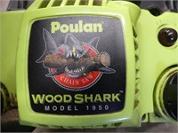 POULAN WOOD SHARK 1950 GAS CHAIN SAW