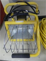 PORTABLE WORK LIGHT W/EXTENSION CORD
