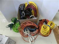 BOX: QTY ASS'T EXTENSION CORDS