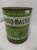 MOTOMASTER IMPERIAL GALLON OIL CAN